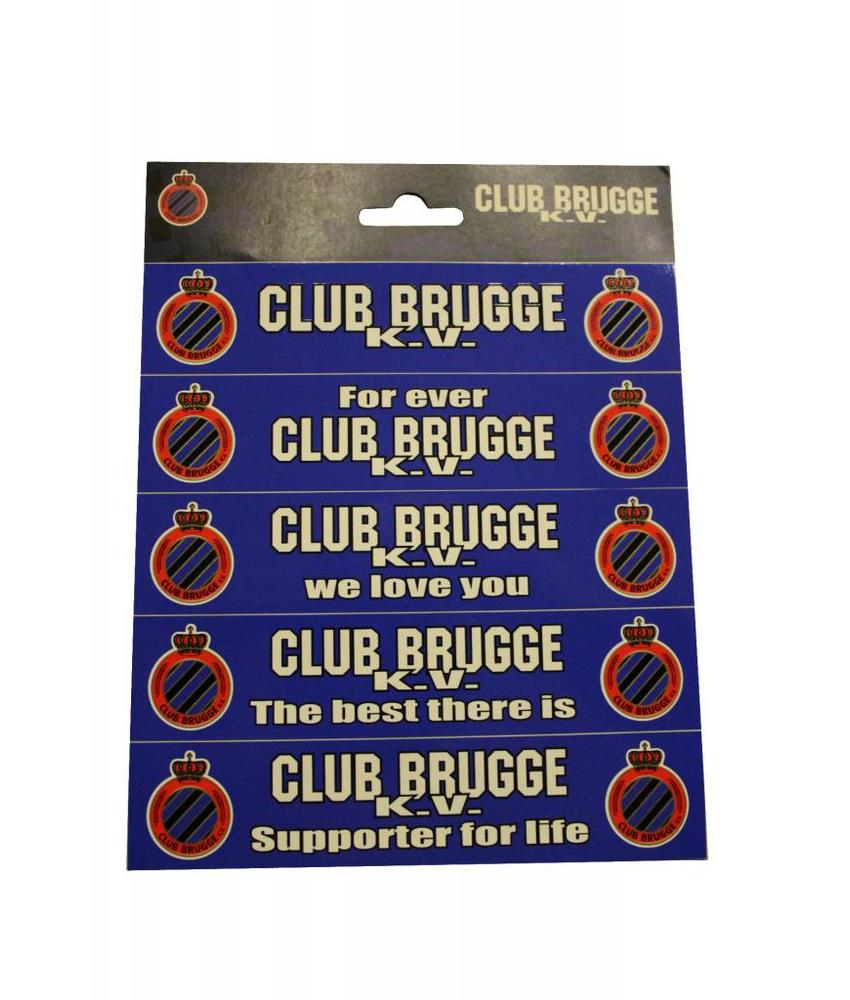 Stickers Club Brugge lang