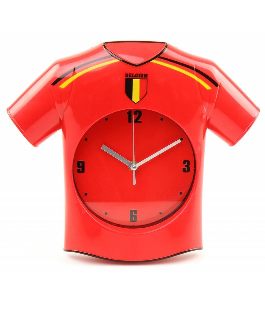 "Wandklok Belgium ""shirt"""