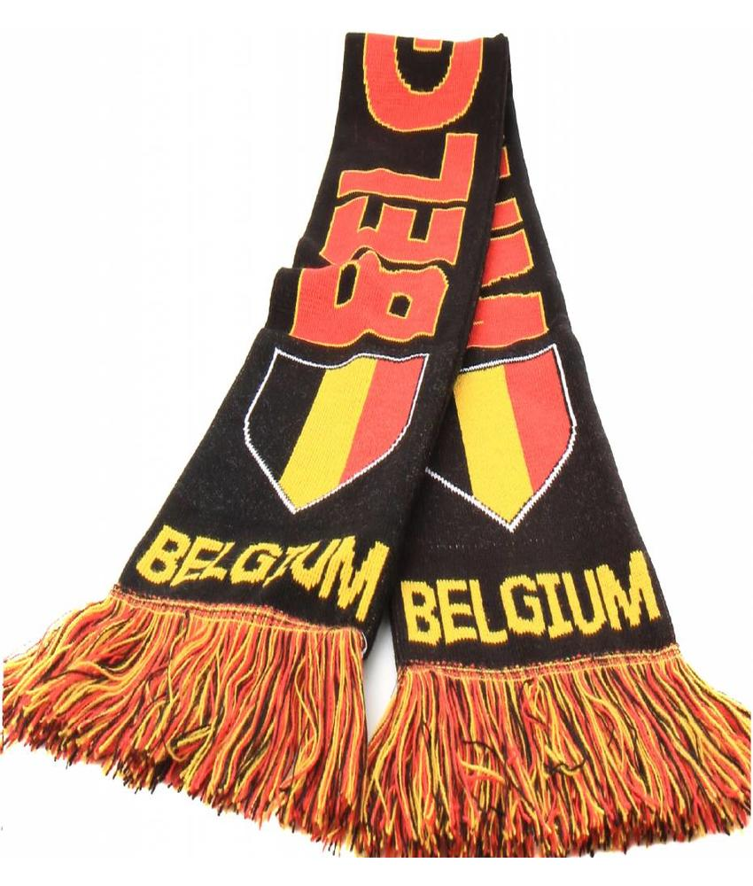 "Supporterssjaal Belgium ""shield"""