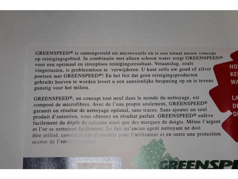 Greenspeed Microvezeldoeken Original 4 st. Ass. kleuren 40 x 40 cm.