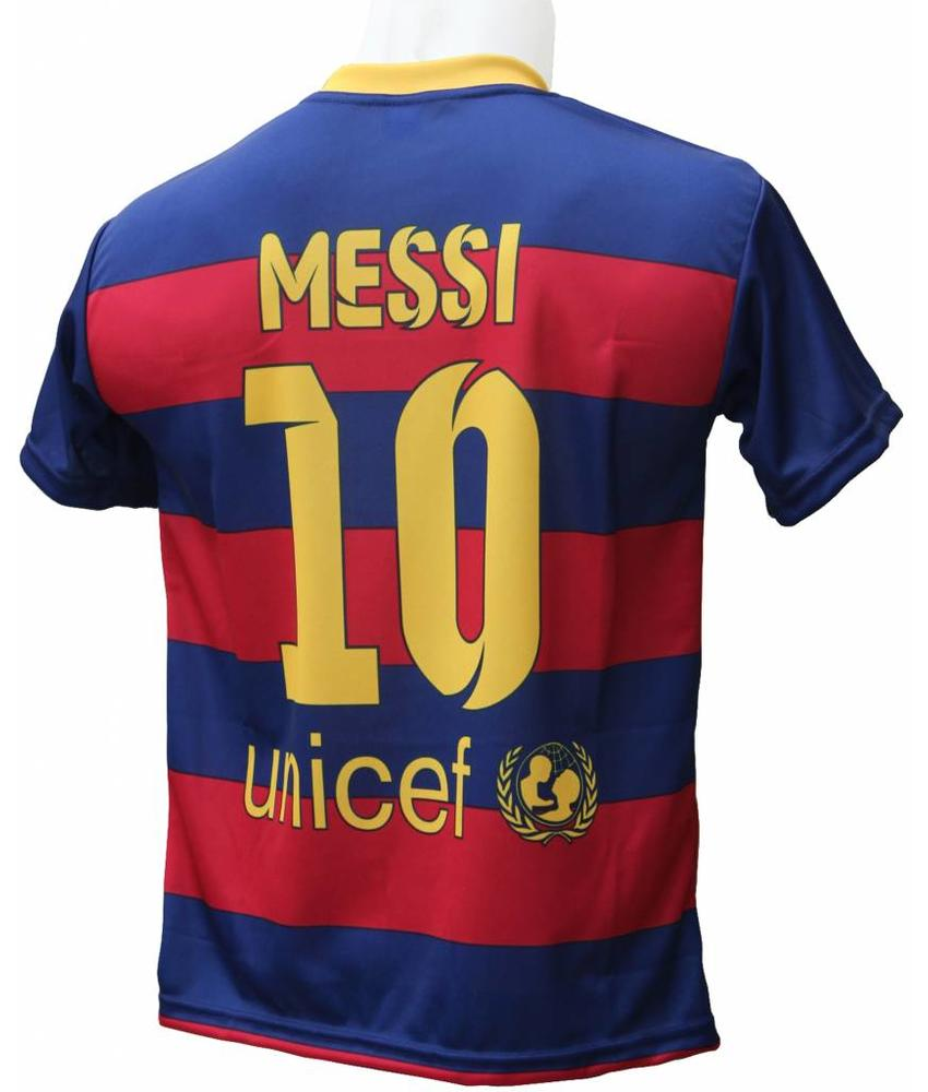 "Barcelona Voetbalshirt Messi ""Thuis"""