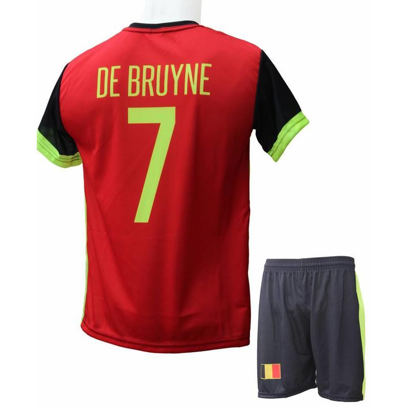 "België Voetbaltenue De Bruyne ""Thuis"""