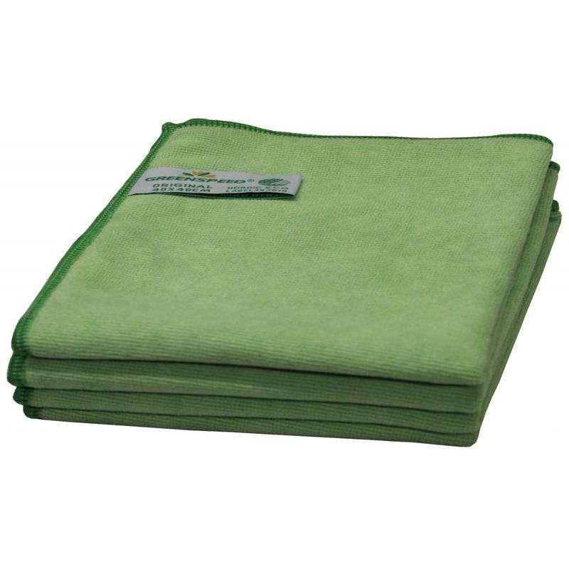 Greenspeed Microvezeldoeken Original Groen 40 x 40 cm.