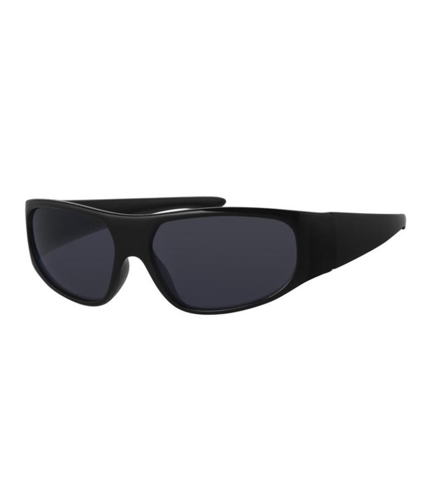 Kinder zonnebril Biker zwart