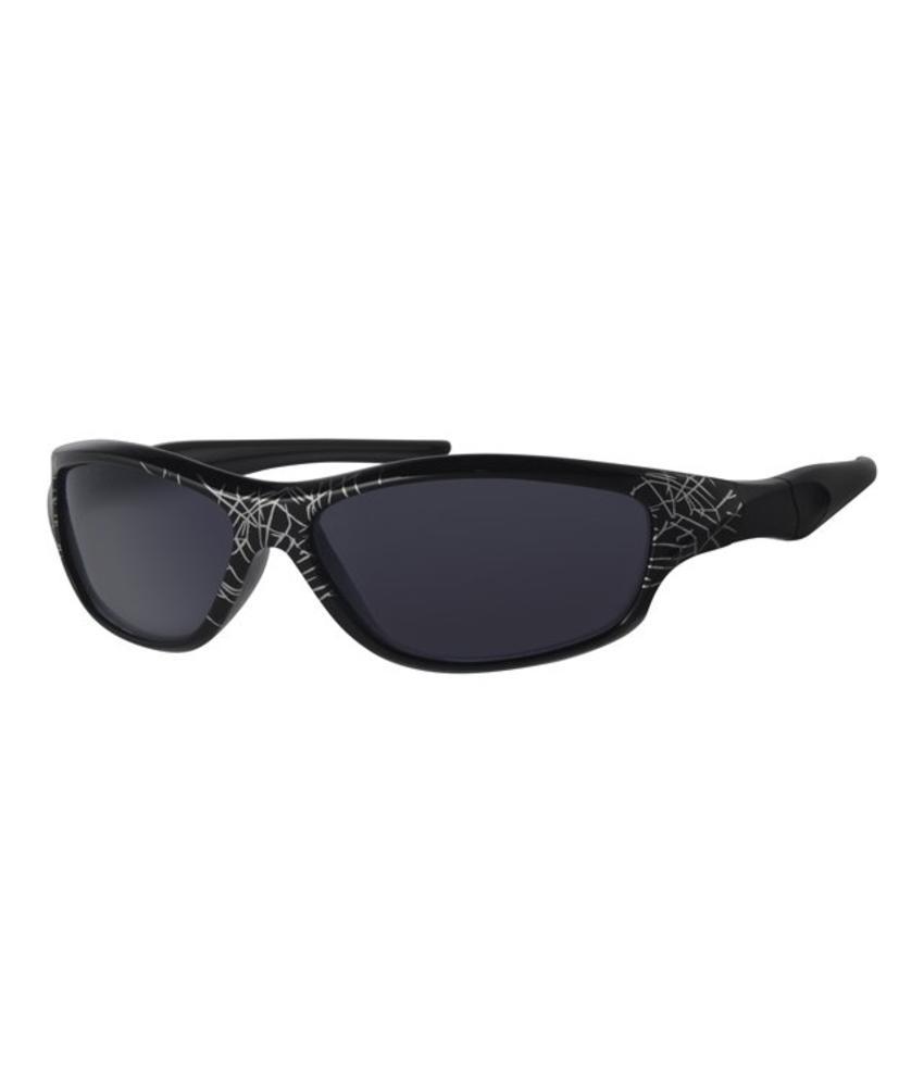 Kinder zonnebril Sport zwart