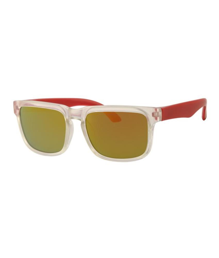 Kids zonnebril Flashy rood