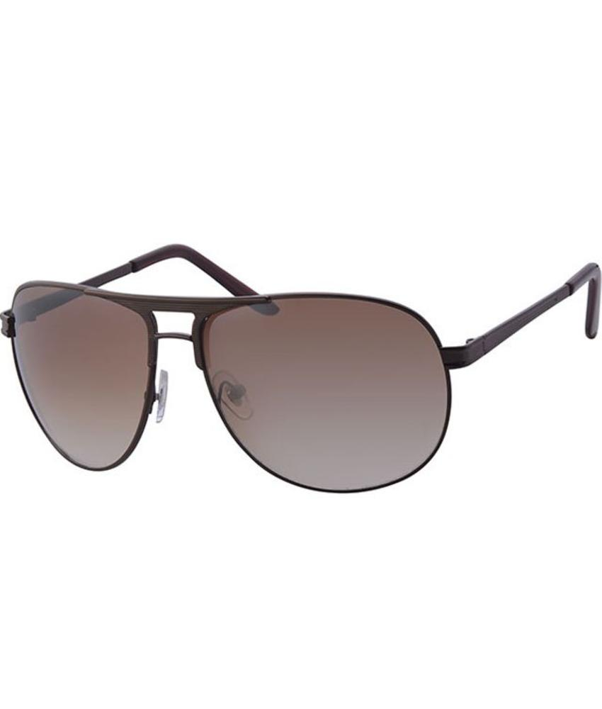 Aviator Zonnebril Brown/gold