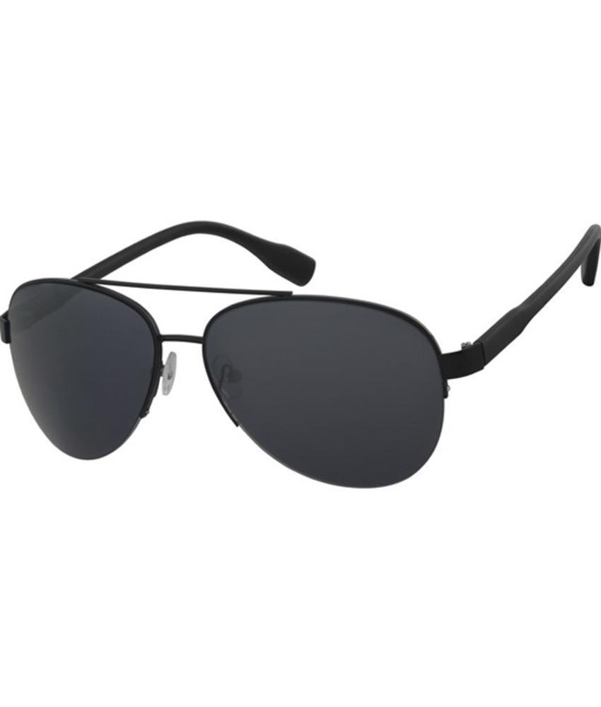 Piloten zonnebril black/black