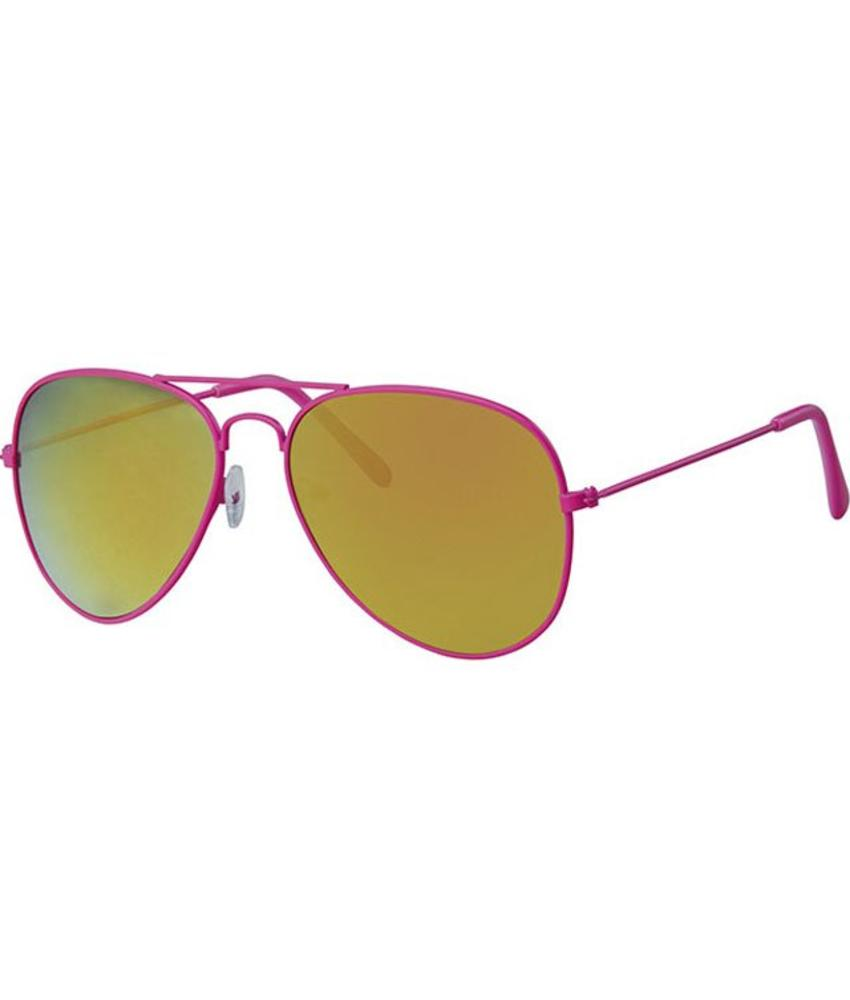 Piloten zonnebril roos