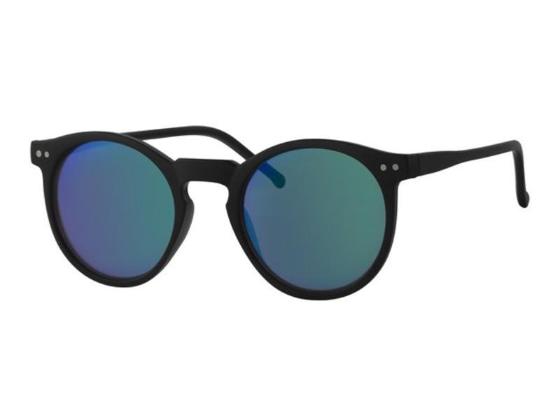 Kinder clubmaster zonnebril zwart met spiegelglas Kinder clubmaster  zonnebril zwart met spiegelglas ... faaf9f83f318
