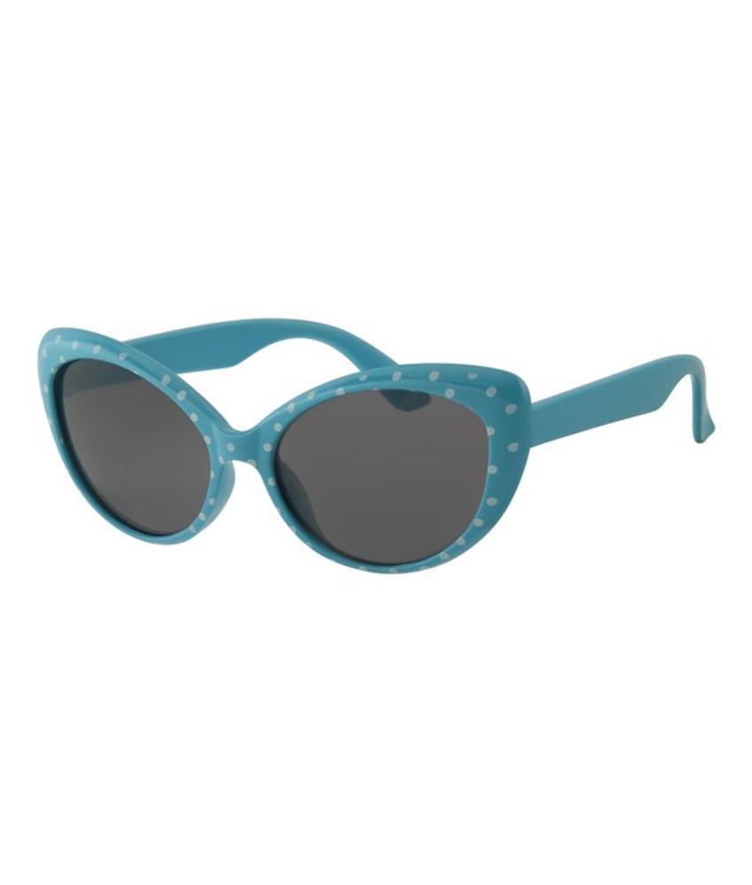 Kinder Zonnebril Blauw met stippen