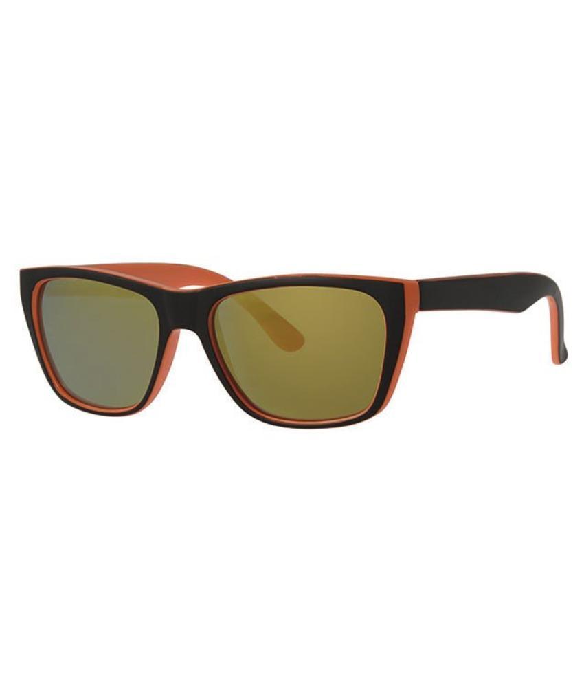 Kinder zonnebril Oranje/Zwart