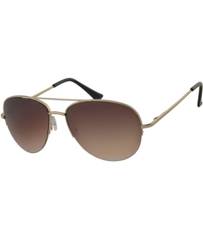 Piloten zonnebril Bruin/goud