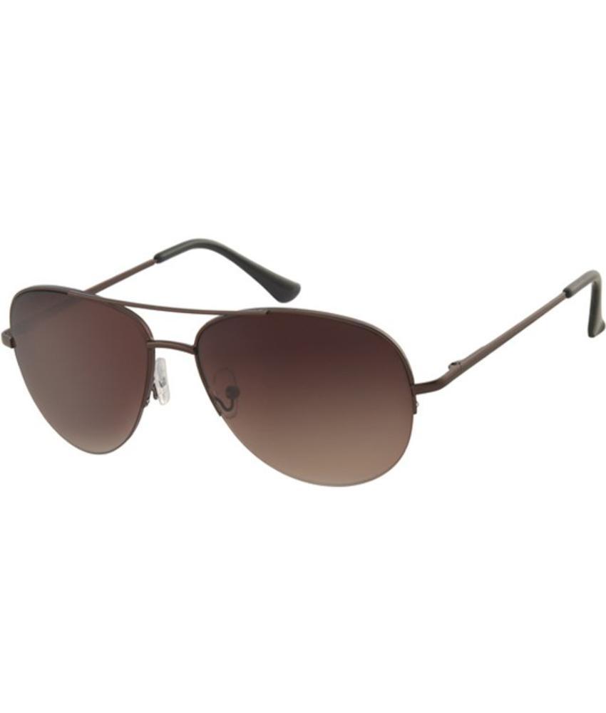 Piloten zonnebril Bruin/metalic