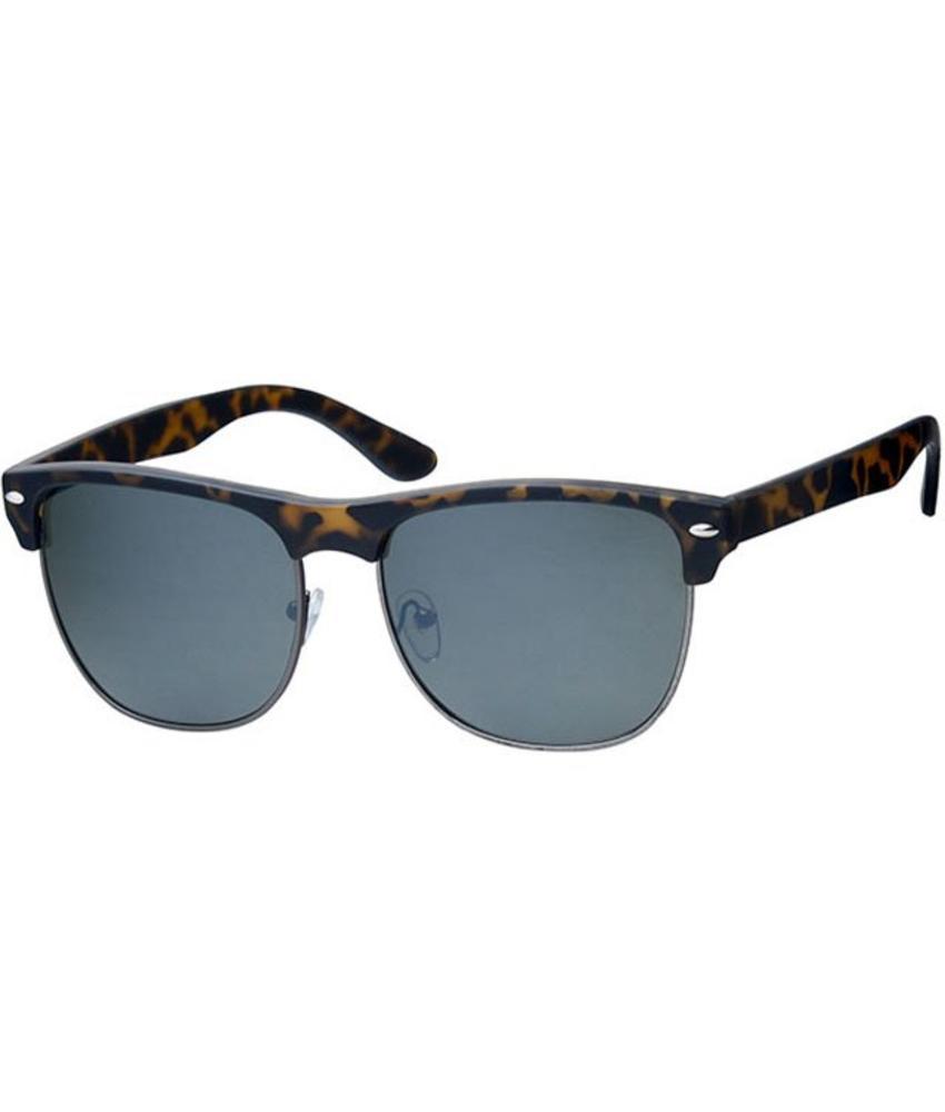 Clubmaster zonnebril Leopard / black rim
