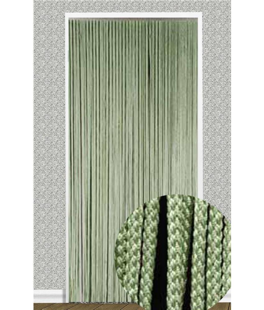 """Vliegengordijn """"Rope"""" Groen 90X200 cm."""