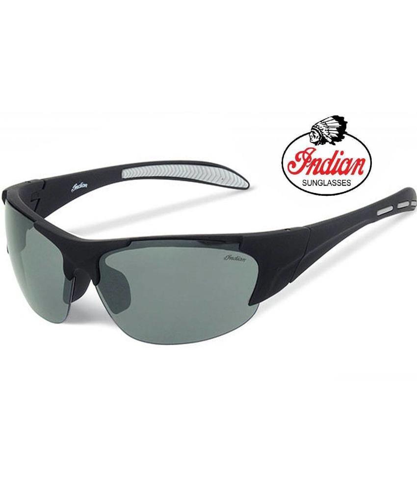Indian Biker zonnebril zwart/grijs