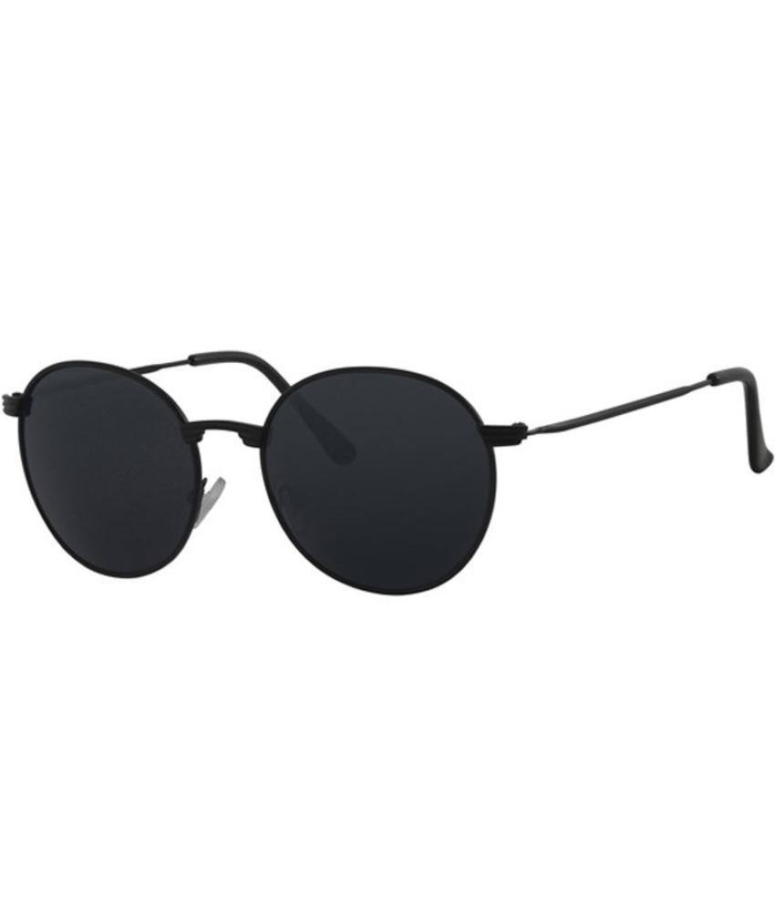 Level One Ronde zonnebril Zwart/solid