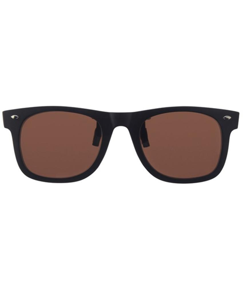 Revex Wayfarer Clip -On Zonnebril Brown
