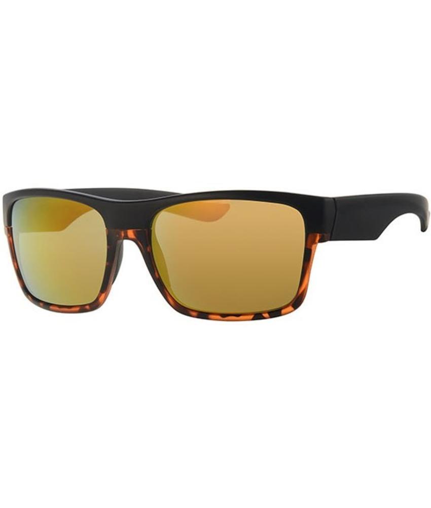 Level One vintage zonnebril black/leopard