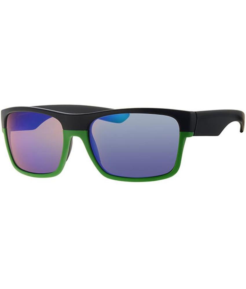 Level One vintage zonnebril black/green