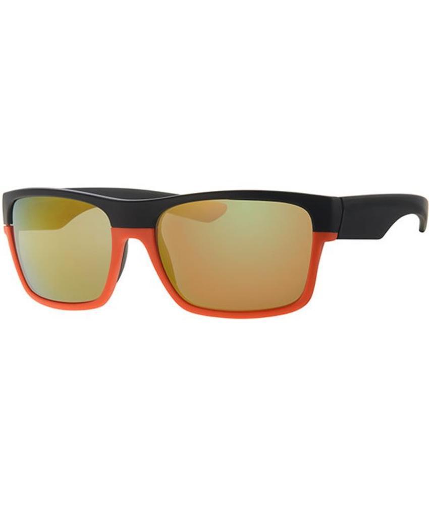 Level One vintage zonnebril black/orange