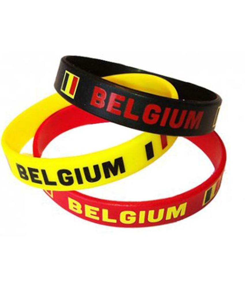 Armbandjes Belgium 3 stuks