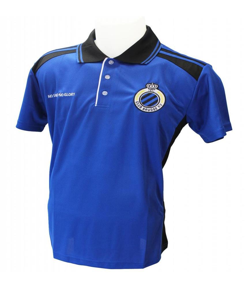 Polo Shirt Club Brugge Blauw/zwart