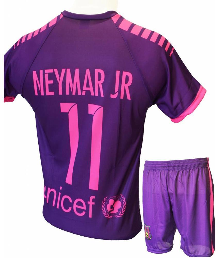 """Barcelona Voetbaltenue Neymar 2016-2017 """"Uit"""""""