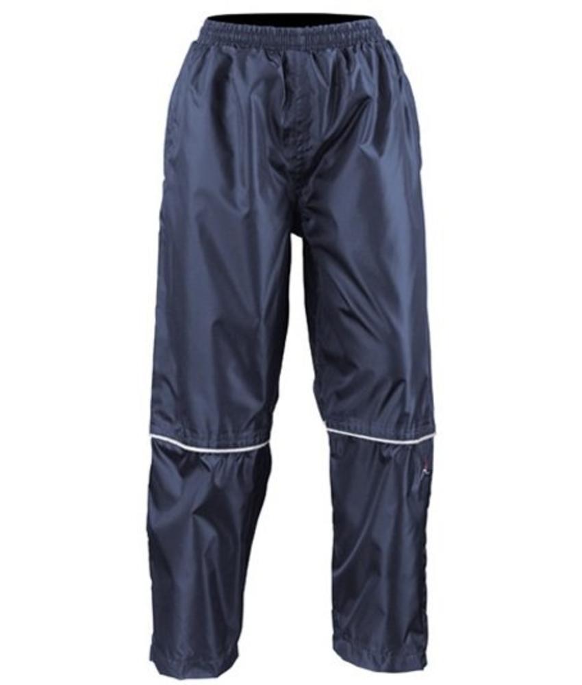 Waterdichte Regenbroek Navy blauw Adults