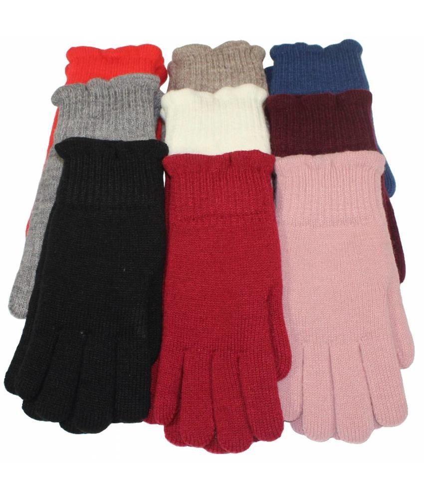 Dames Handschoenen met pels