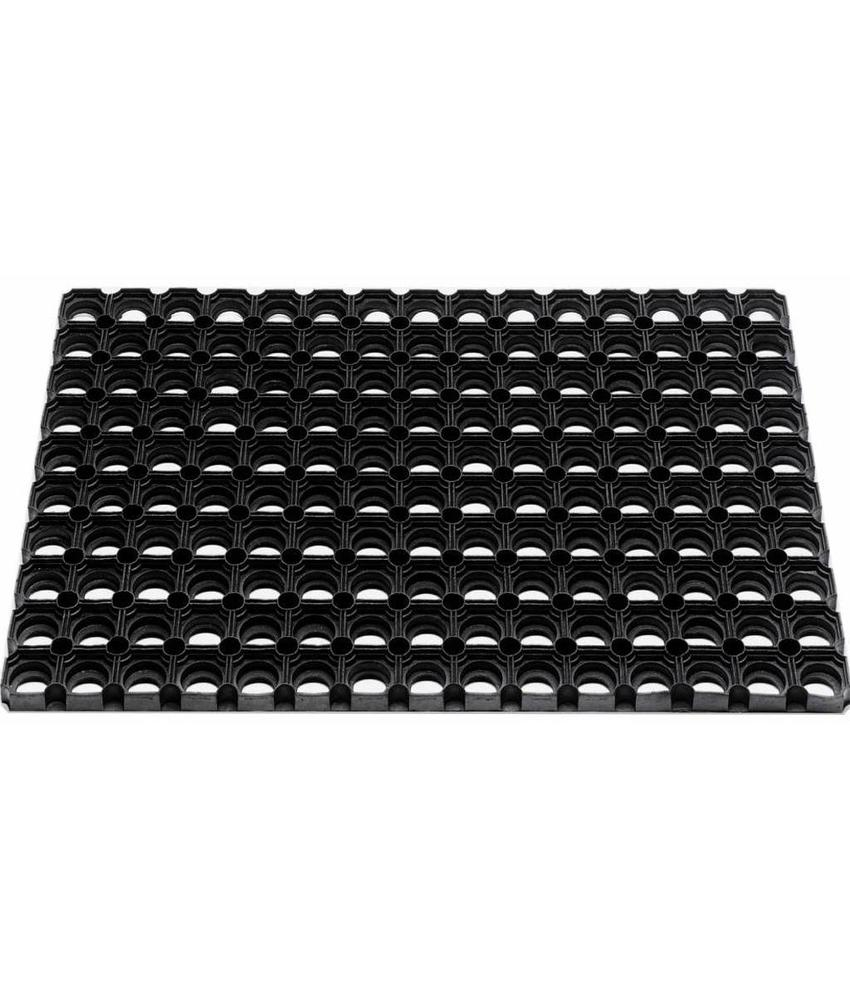 Rubber deurmat Domino 80 x 120 cm.