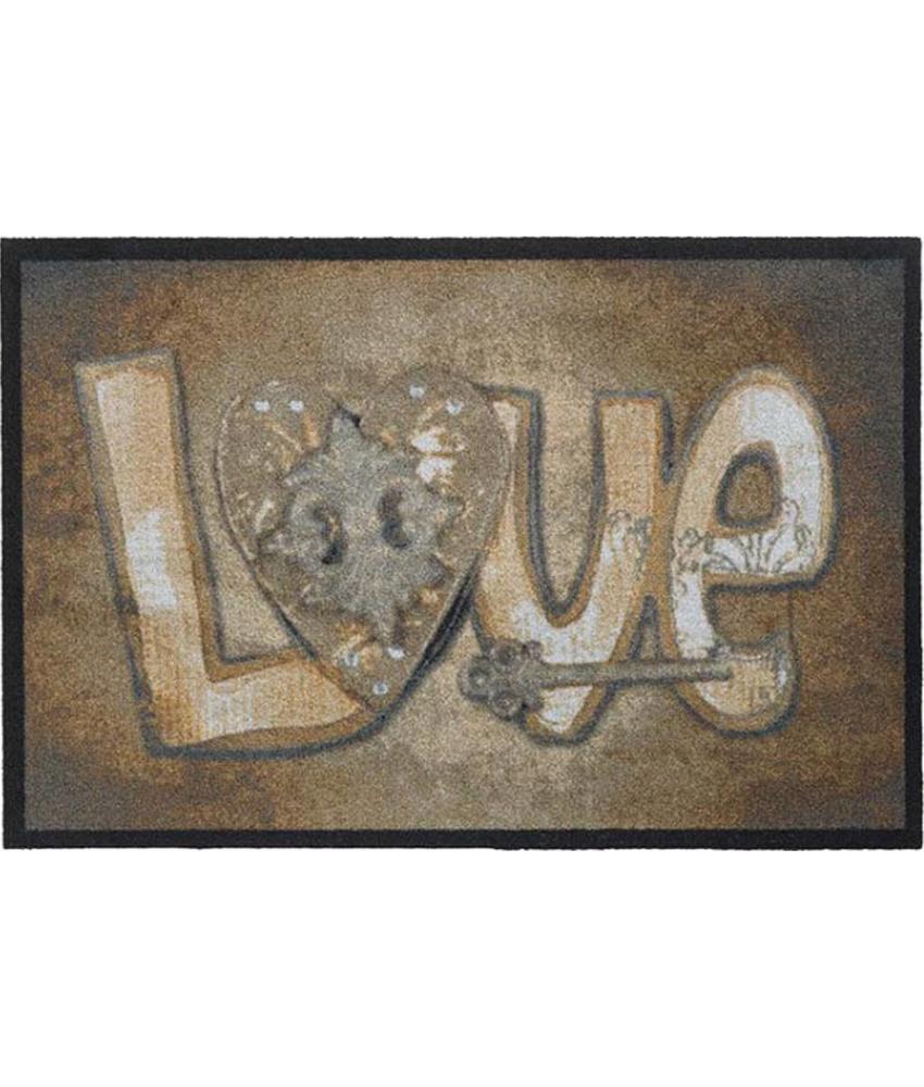 Deurmat Love 50x75 cm.