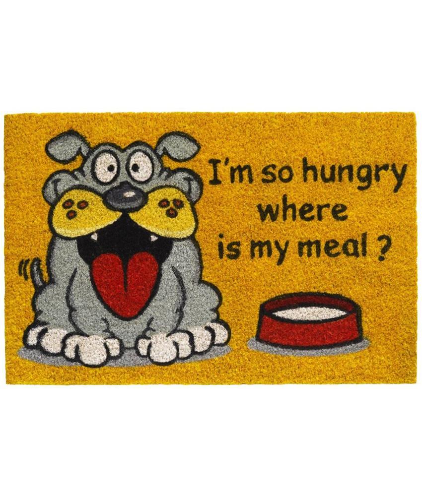 Kokosmat Where is my meal ? 40x60 cm.