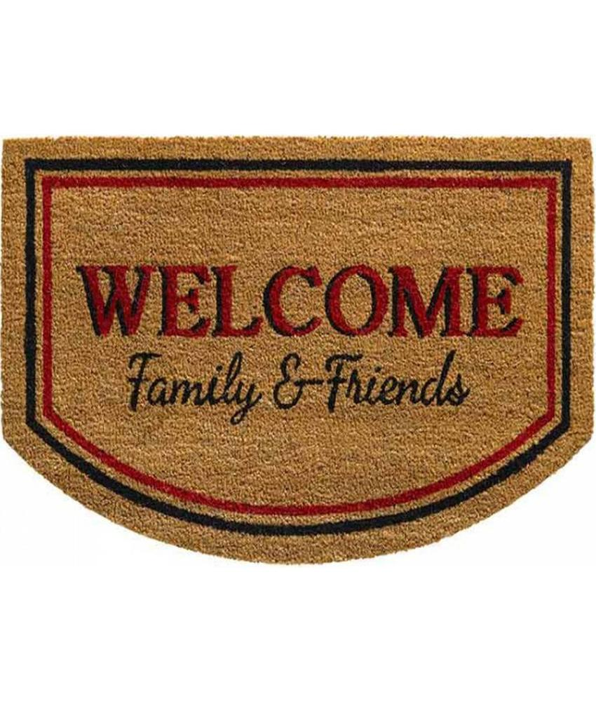 Kokosmat Welcome Family & Friends 50 x 80 cm.