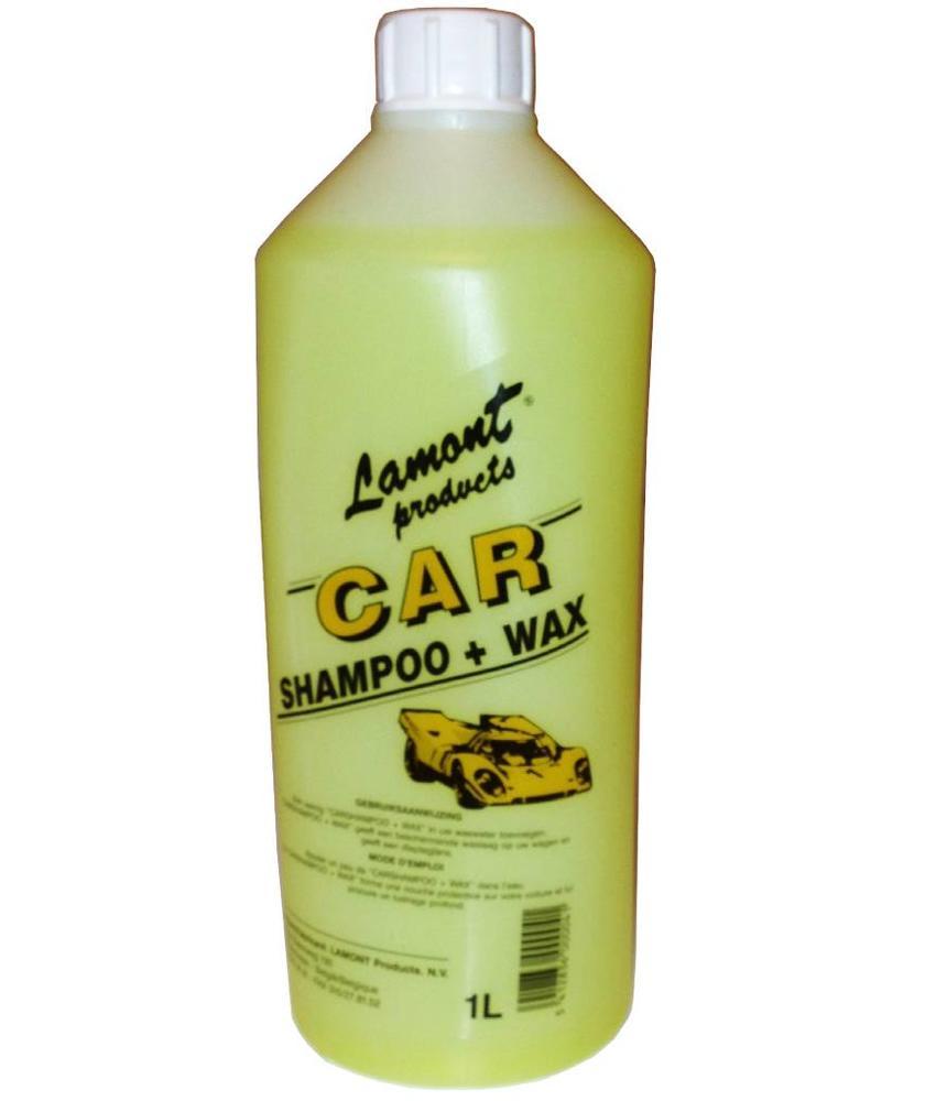 Lamont Auto shampoo + Wax 1 Liter