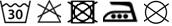 Strijkplankovertrek 3 lagen maat A Blauw/groen klaverblad