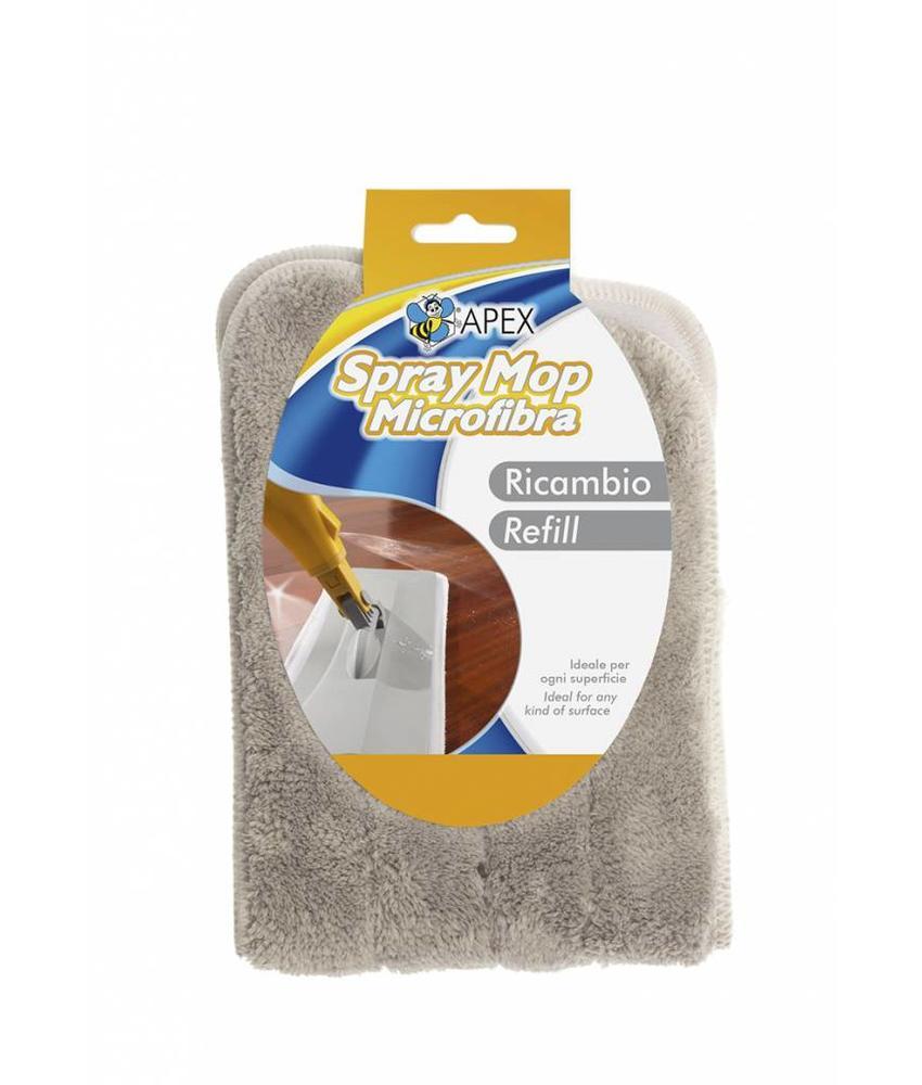 Squizzo Microvezelmop voor Spray mop