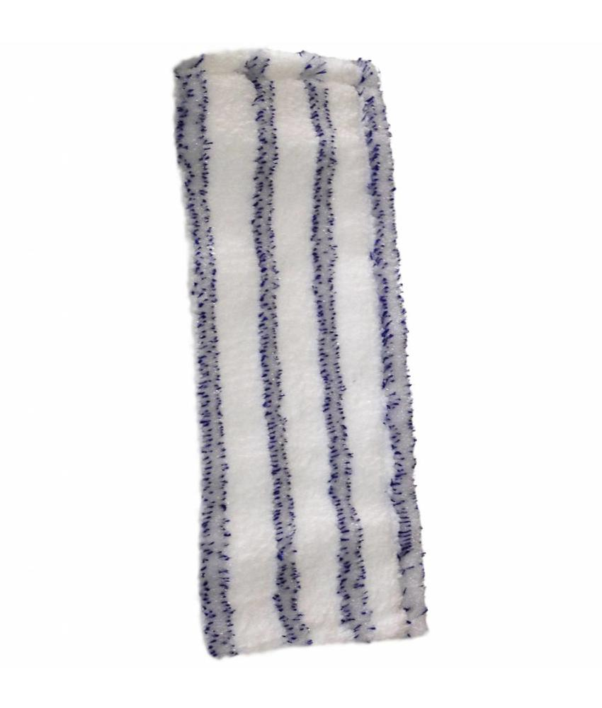 Vloermop doek Soft microfiber (Wit/blauw)