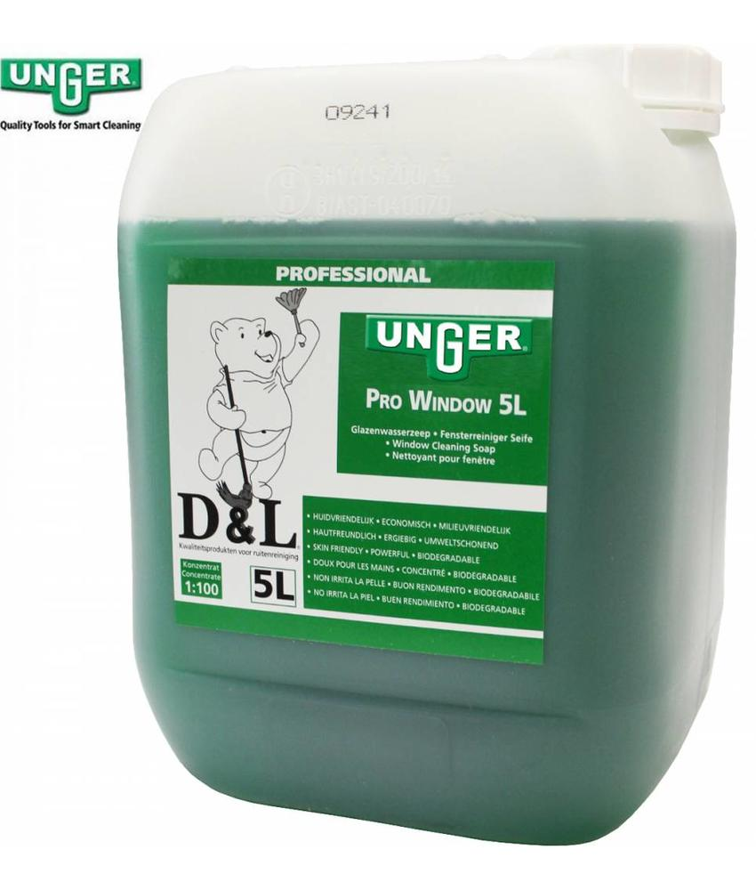 Unger Liquid window cleaning soap 5 Liter