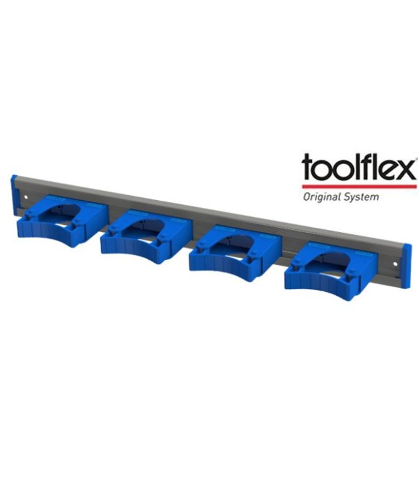 Toolflex ophangsysteem 50cm. incl. 4 houders
