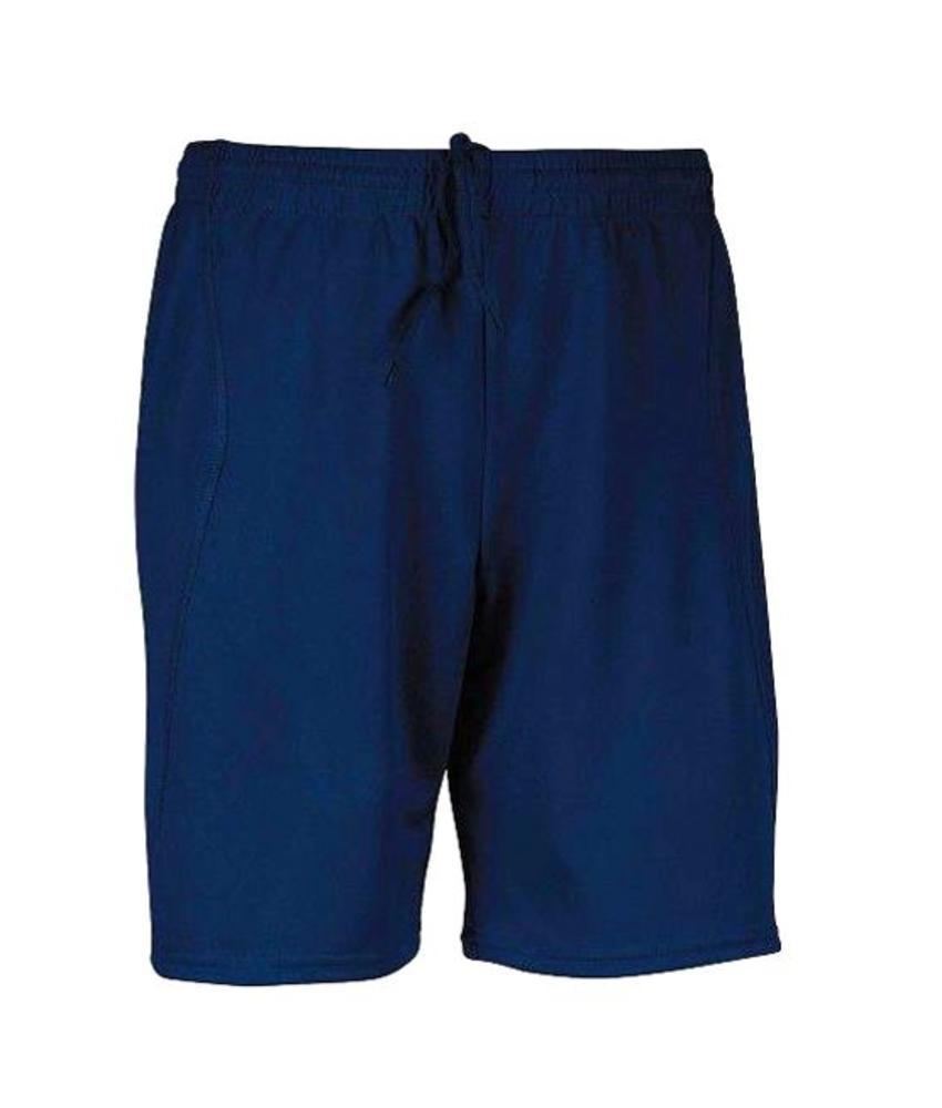 Voetbalshort Kids Navy blauw