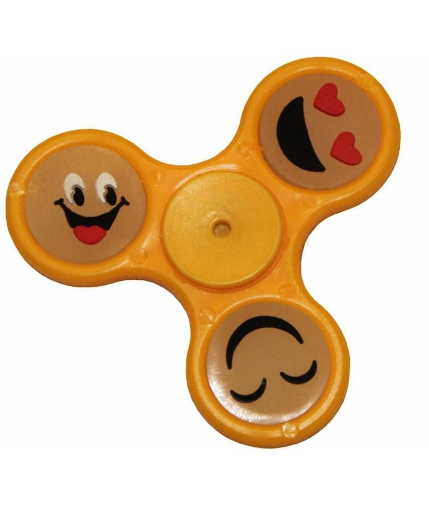 Hand spinner smiley Geel