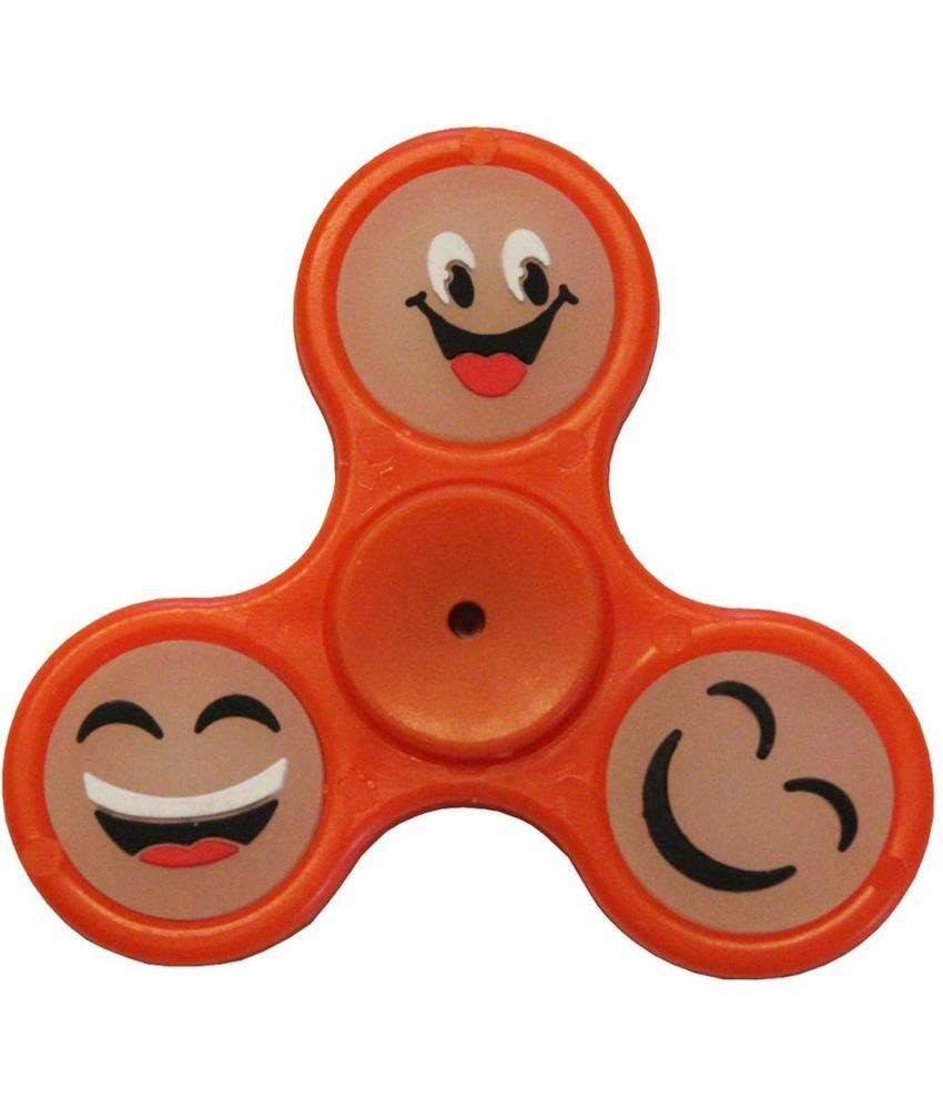 Hand spinner smiley Orange
