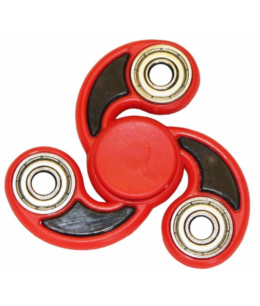 Hand spinner Ninja Rood