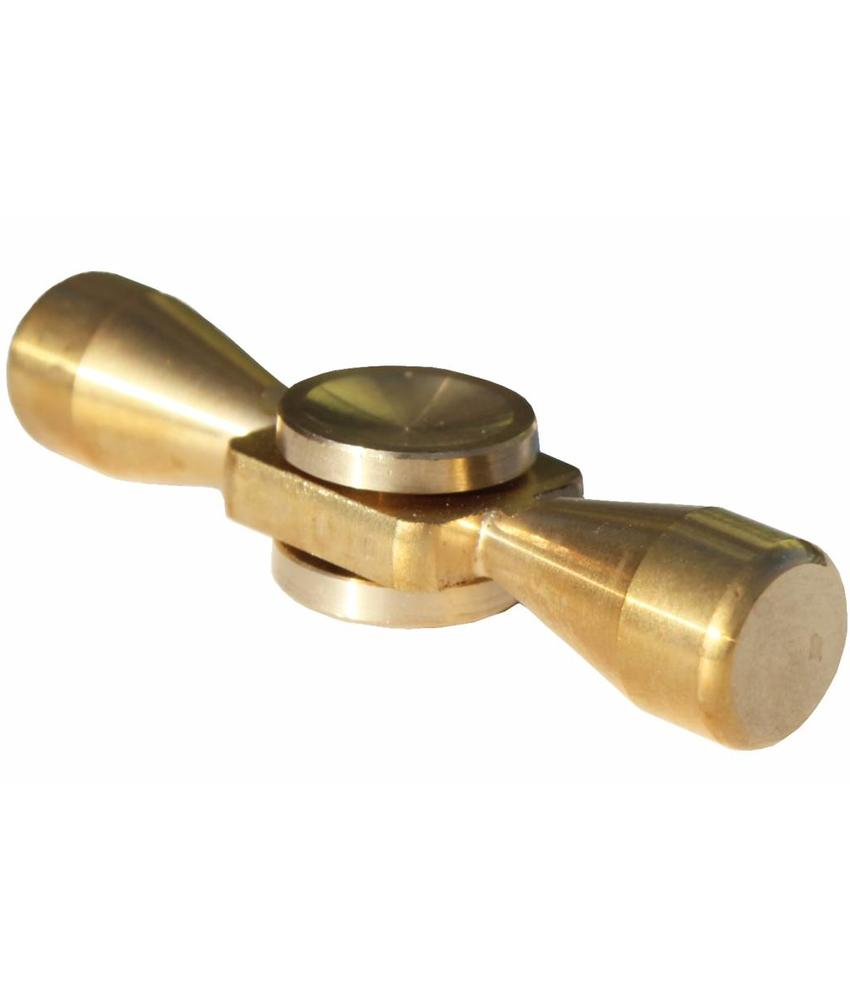 Metalen hand spinner Gold-bar