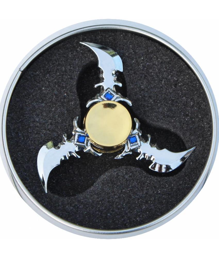 Hand spinner Exclusief Ninja Blauw