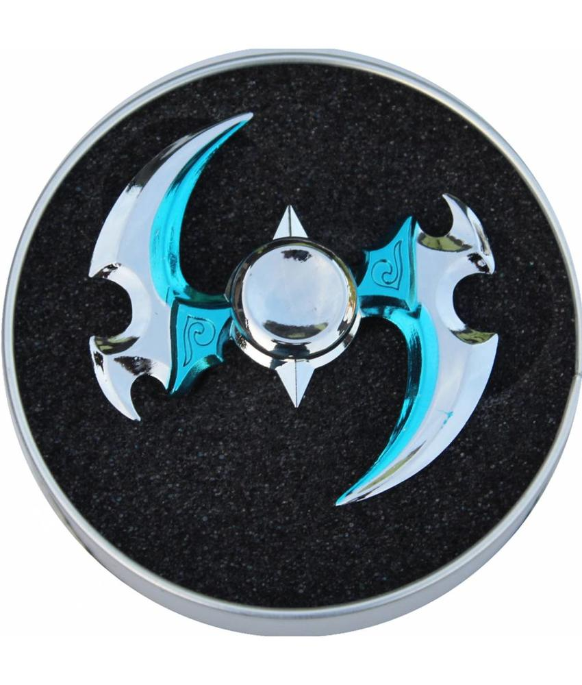 Hand spinner Exclusief super Ninja Blauw