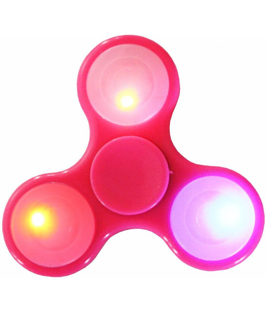 Hand spinner Led - licht Roos