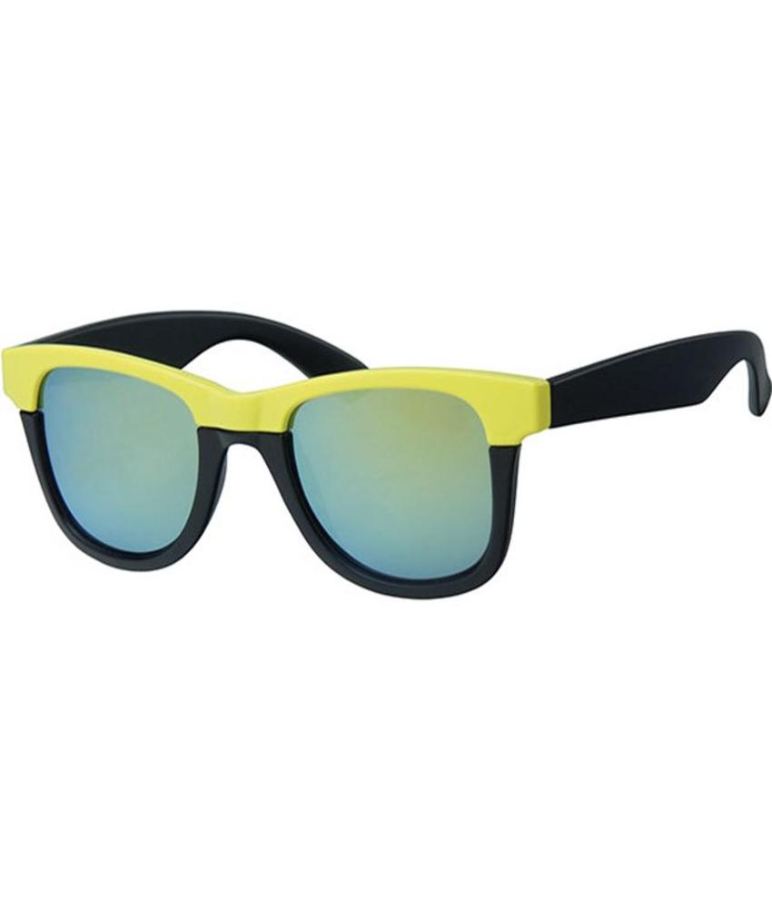 Flashy zonnebril neon yellow up